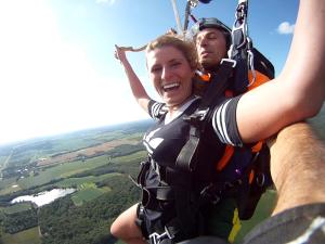 Tandem Skydive near St Louis