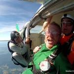 tandem skydiving
